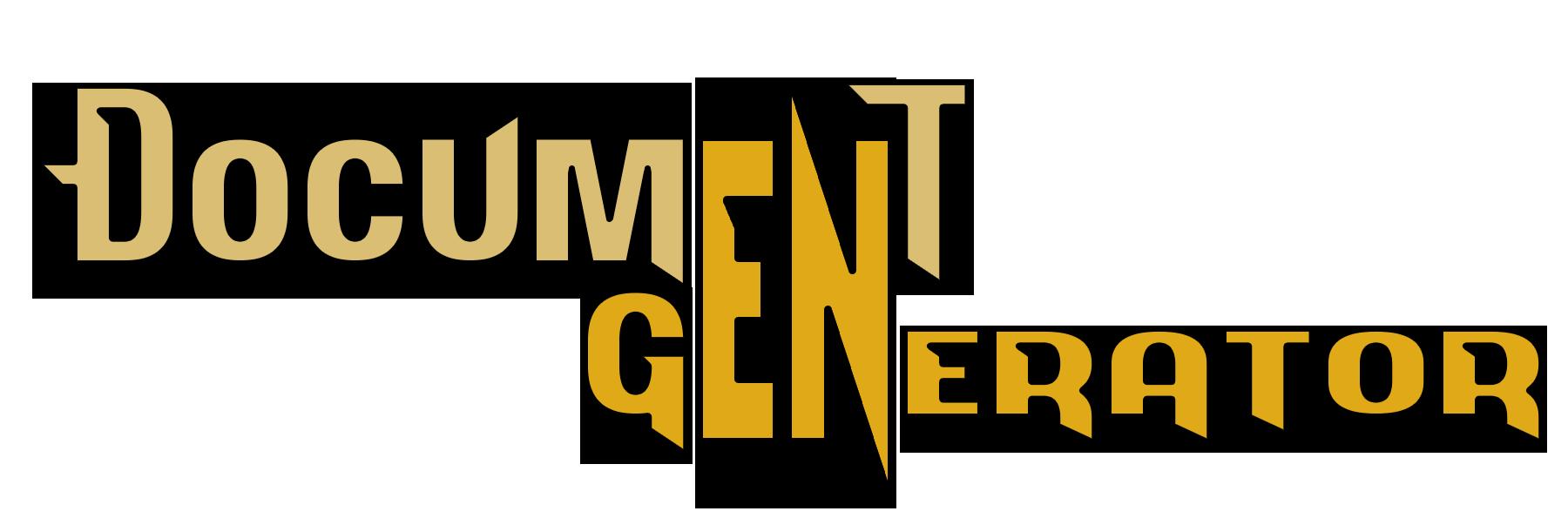 DocumentGenerator